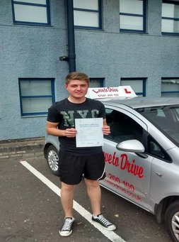 Blair, newly qualified driver