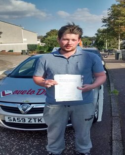 Dan, newly qualified driver