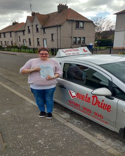 Gemma, newly qualified driver