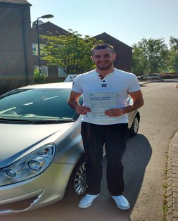 Graeme, newly qualified driver