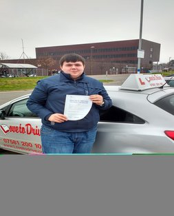 Piotr, newly qualified driver