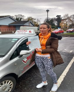 Sinnead, newly qualified driver