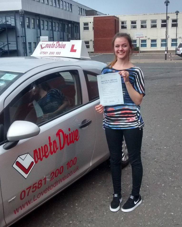 Zoe, newly qualified driver